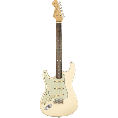Fender American Original '60s Stratocaster Left-Hand, Rosewood Fingerboard, Olympic White - Quest Music Store