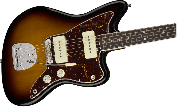 Fender American Original '60s Jazzmaster, Rosewood Fingerboard, 3-Color Sunburst - Quest Music Store