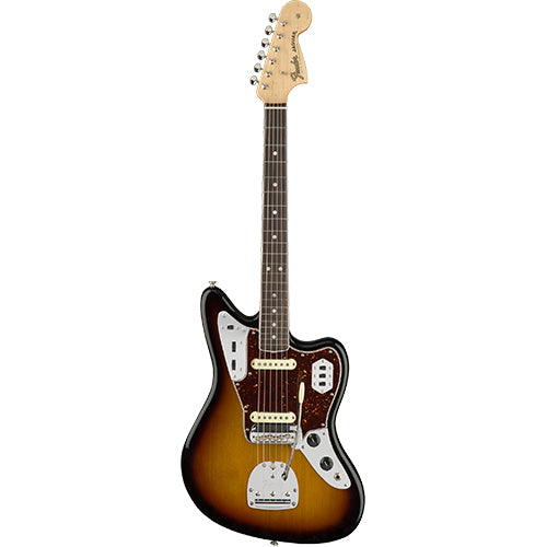 Fender American Original '60s Jaguar, Rosewood Fingerboard, 3-Color Sunburst - Quest Music Store