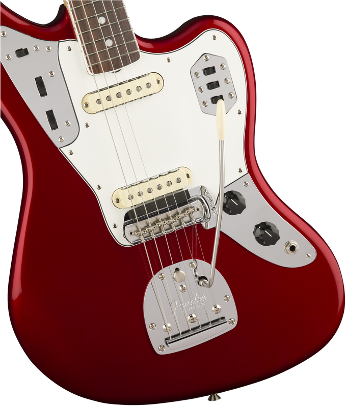 Fender American Original '60s Jaguar, Rosewood Fingerboard, Candy Apple Red - Quest Music Store
