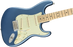 Fender American Performer Stratocaster, Maple Fingerboard, Satin Lake Placid Blue