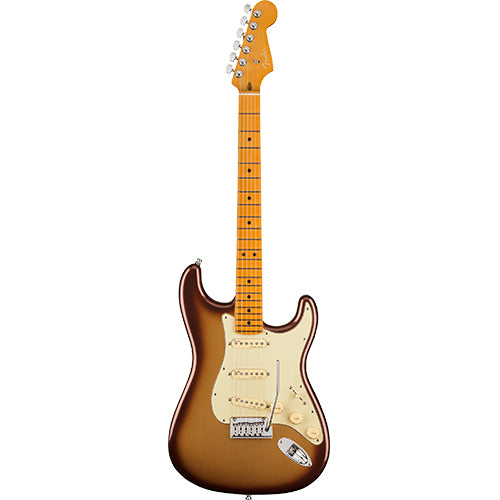 Fender American Ultra Stratocaster, Maple Fingerboard, Mocha Burst