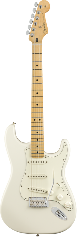 Fender Player Stratocaster, Maple Fingerboard, Polar White