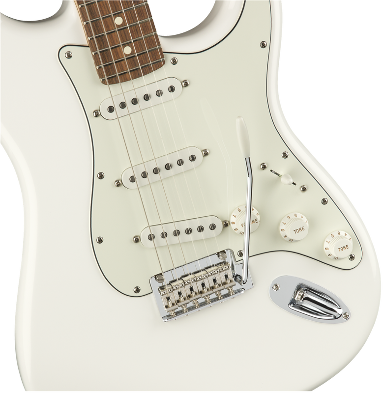Fender Player Stratocaster, Pau Ferro Fingerboard, Polar White