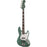 Fender Adam Clayton Jazz Bass, Rosewood Fingerboard, Sherwood Green Metallic - Quest Music Store