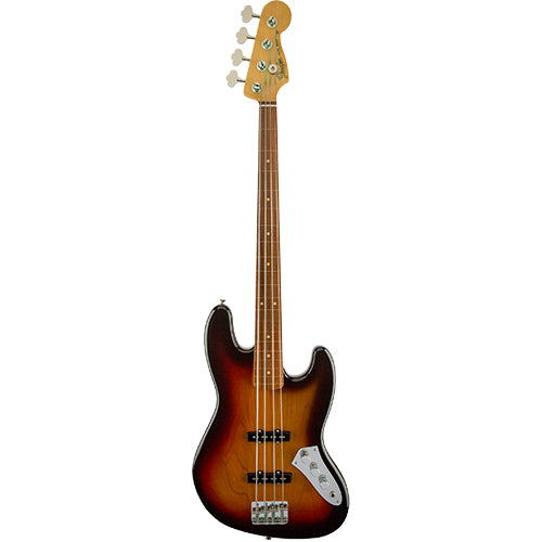 Fender Jaco Pastorius Jazz Bass, Fretless, Pau Ferro Fingerboard, 3-Color Sunburst - Quest Music Store
