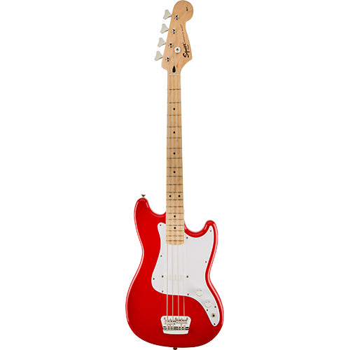 Squier Bronco Bass, Maple Fingerboard, Maple Fingerboard, Torino Red