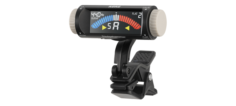 Korg Sledgehammer Clip On Tuner - Quest Music Store