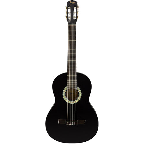Squier SA-150 Classical, Stained Hardwood Fingerboard, Black