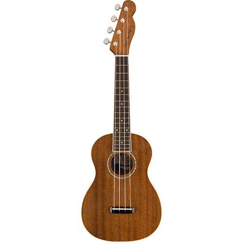 Fender Zuma Concert Uke, Natural - Quest Music Store