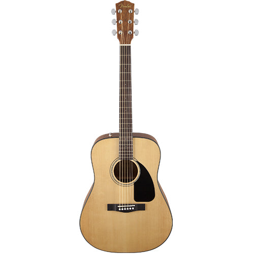Fender CD-60 Dreadnought V3 w/Case, Walnut Fingerboard, Natural