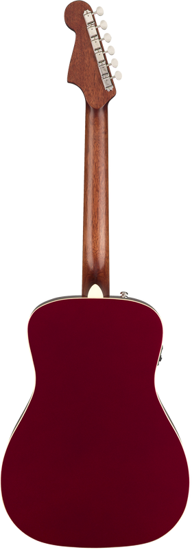 Fender Malibu Player, Candy Apple Red - Quest Music Store