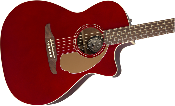 Fender Newporter Player, Candy Apple Red - Quest Music Store