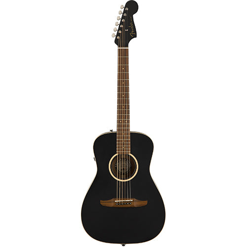 Fender Malibu Special, Matte Black w/bag - Quest Music Store