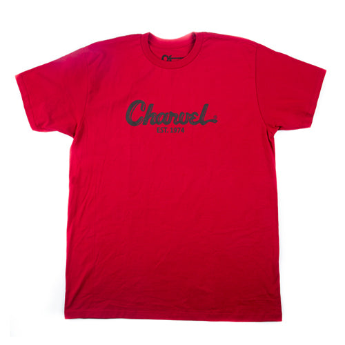 Charvel® Toothpaste Logo Men's T-Shirt, Red, XL