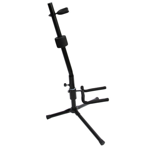 On-Stage Push-Down Spring-Up Locking Acoustic Guitar Stand