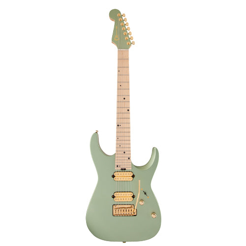 Charvel Angel Vivaldi Signature DK24-7 NOVA, Maple Fingerboard, Satin Sage Green