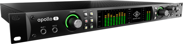 Universal Audio Apollo 8 DUO -Thunderbolt 2 Interface