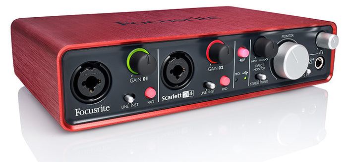 Focusrite Scarlett 2i4 - 2in/4out USB Interface - Quest Music Store