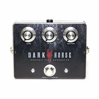 Rock Stock Pedals - Dark Horse Fuzz - Quest Music Store