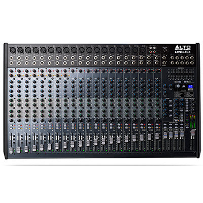 Alto Live 2404 24-Channel Mixer - Quest Music Store