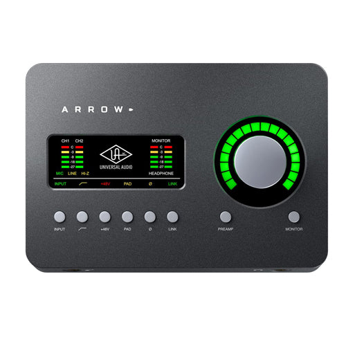 Universal Audio Arrow Thunderbolt 3 Interface w/ SOLO Processing
