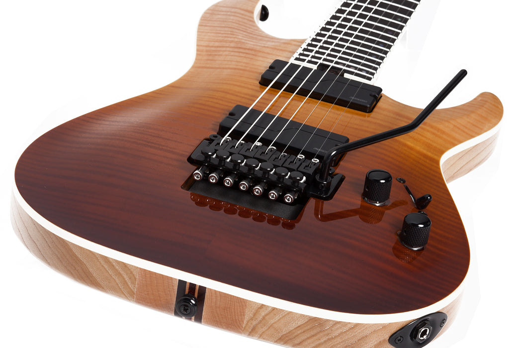 Schecter C-7 FR SLS Elite Antique Fade Burst