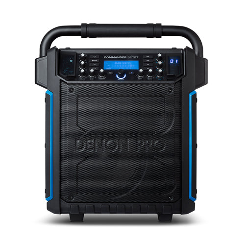 Denon Commander Sport Water-Resistant Portable P.A. Speaker