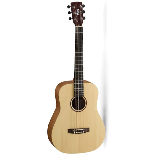 Cort 3/4 Earth Mini Open Pore Acoustic Guitar With Gig Bag