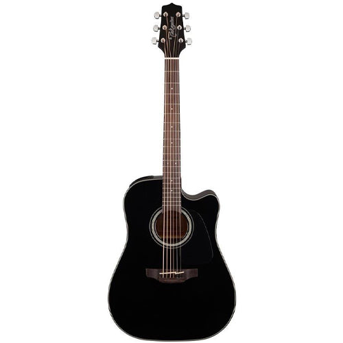 Takamine GD30CE-BLK - Dreadnought Cutaway - Black