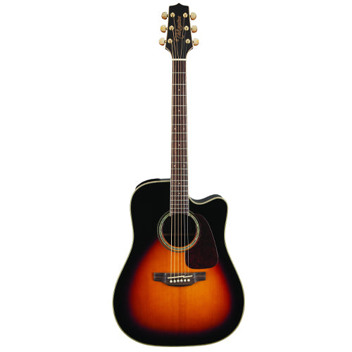 Takamine GD71CE-BSB Dreadnought Cutaway Acoustic-Electric Guitar, Sunburst