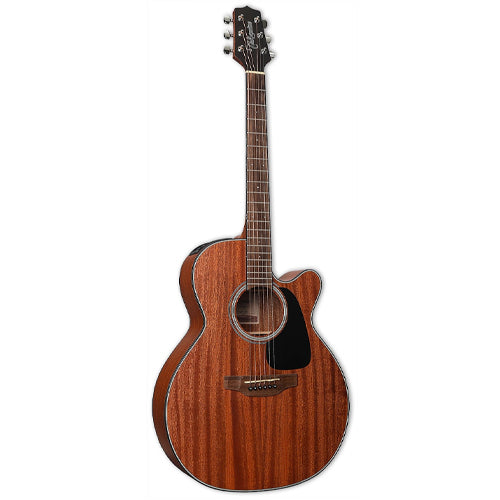 Takamine GN11MCE-NS G-Series All-Mahogany Nex Cutaway Acoustic-Electric Guitar, Natural Satin