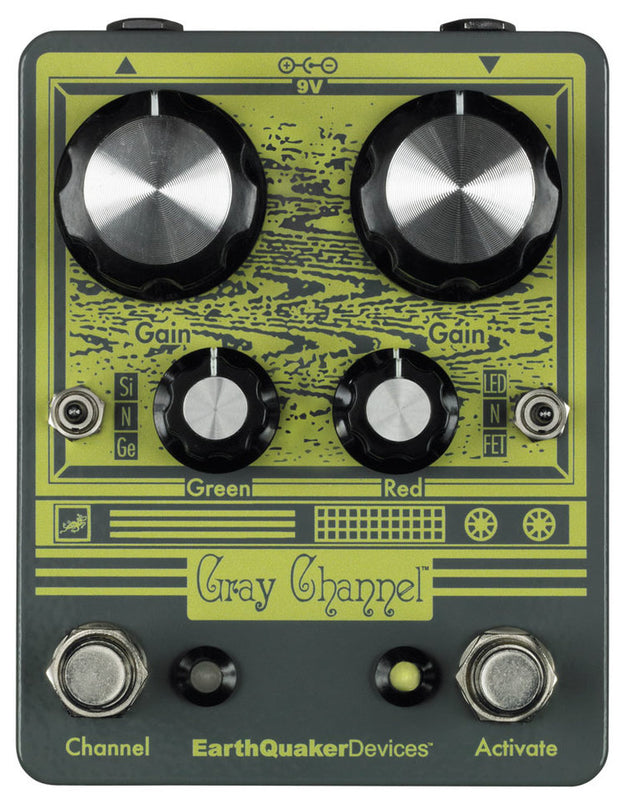 EarthQuaker Gray Channel Dynamic Dirt Doubler - Quest Music Store