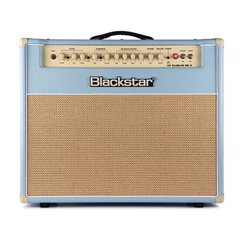 Blackstar HT Club 40 MkII Black and Blue Edition