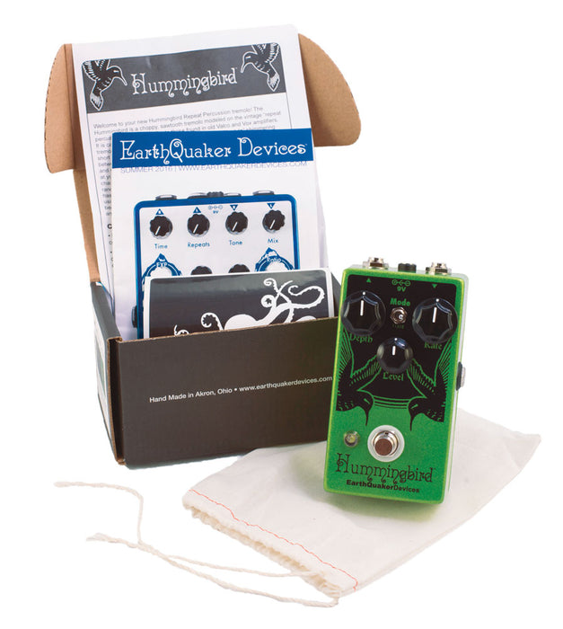 EarthQuaker Hummingbird Repeat Percussions V3 - Quest Music Store