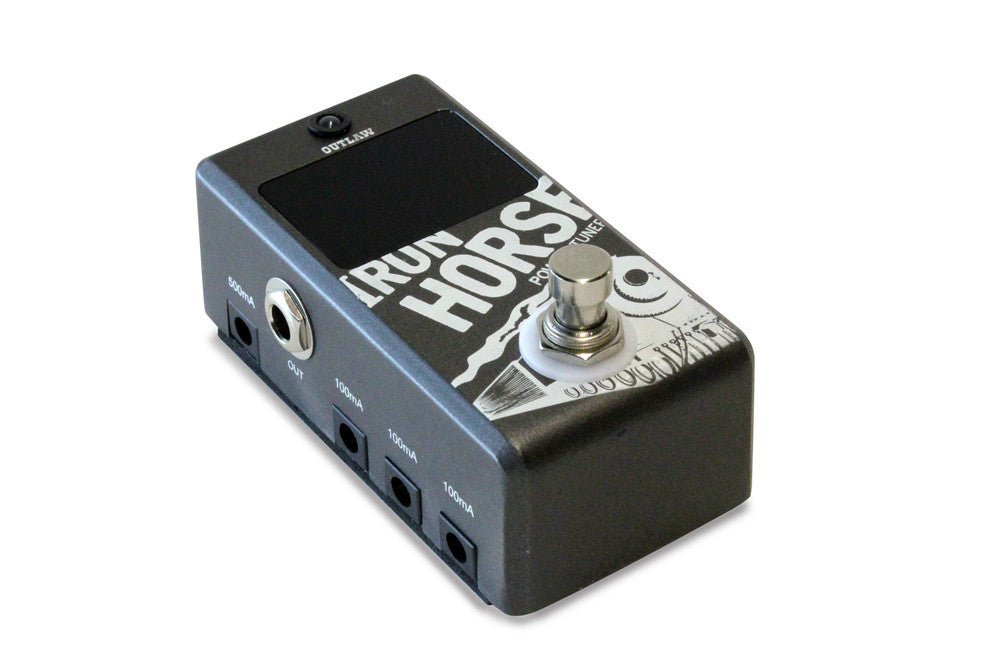 Outlaw Effects - Iron Horse Power Supply + Tuner - Quest Music Store