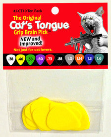 Cat's Tonge Grip Brain Pick Pack - 10 Pack (10 Gauges Available) - Quest Music Store