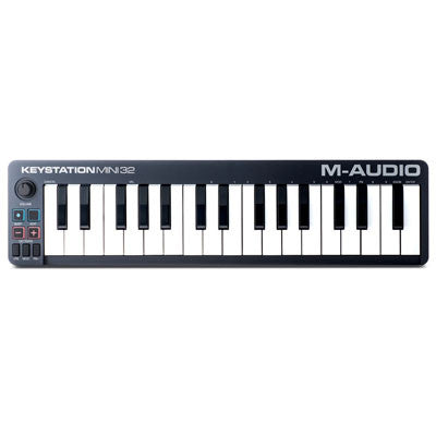 M-Audio Keystation Mini 32 - 32-Key Portable Keyboard Controller