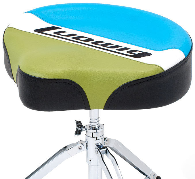Ludwig Drums - Atlas Classic Saddle Drum Throne - Quest Music Store
