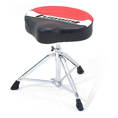 Ludwig Drums - Atlas Pro Saddle Drum Throne - Quest Music Store