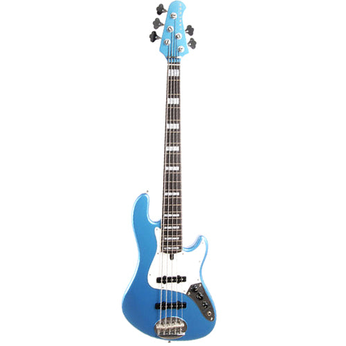 Lakland Skyline Darryl Jones 5 String, Lake Placid Blue