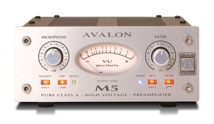 Avalon M5 - Mono microphone preamp - Quest Music Store