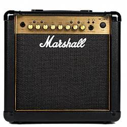 Marshall MG15G 15-Watt 2 Channel Guitar Combo