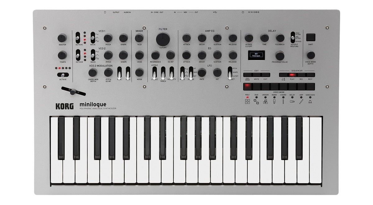 Korg Minilogue Analog Polyphonic Synthesizer
