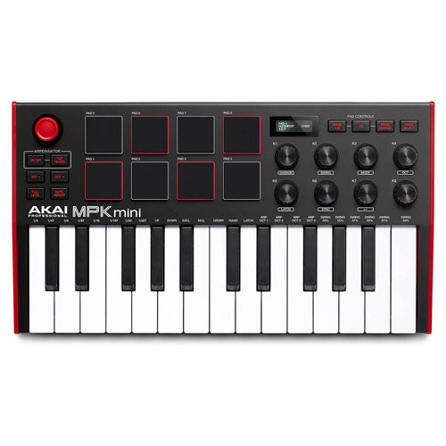 Akai MPK Mini MKIII 25-Note Keyboard/Drum Pad Controller