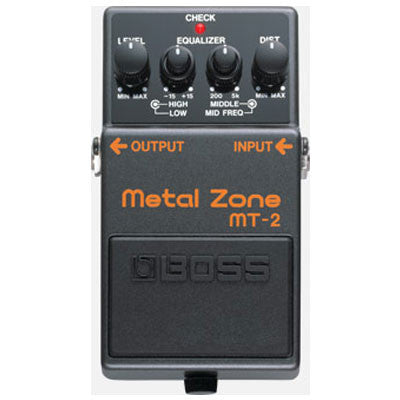 Boss MT-2 Metal Zone - Quest Music Store