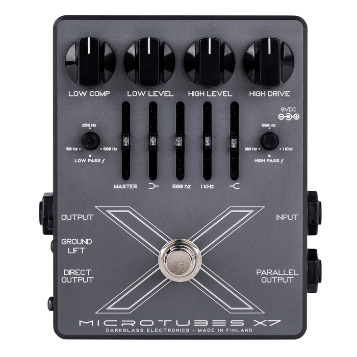 Darkglass Electronics - Microtubes X7 Bass Pedal