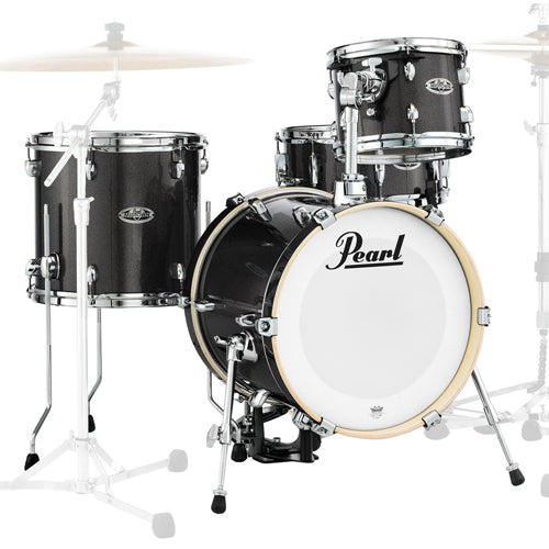 Pearl Midtown Series 4-Piece Shell Pack - Black Gold Sparkle Finish