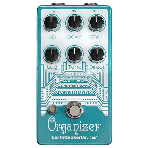 EarthQuaker Organizer Polyphonic Organ Emulator V2 - Quest Music Store