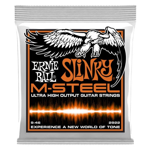Ernie Ball EBP02922 Hybrid Slinky M-Steel Electric Guitar Strings 9-46 - Quest Music Store